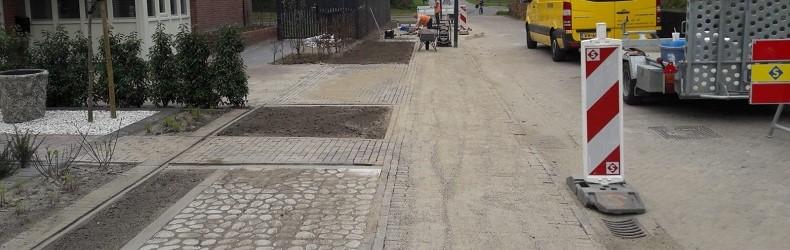 Graskeiblokken woonrijp maken Grasrijk Eindhoven